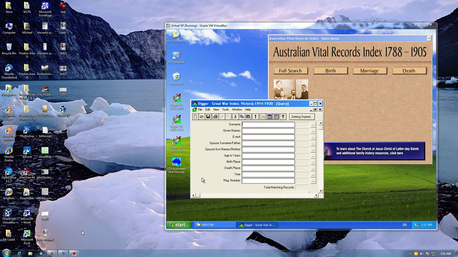 windows 7 64bit machine